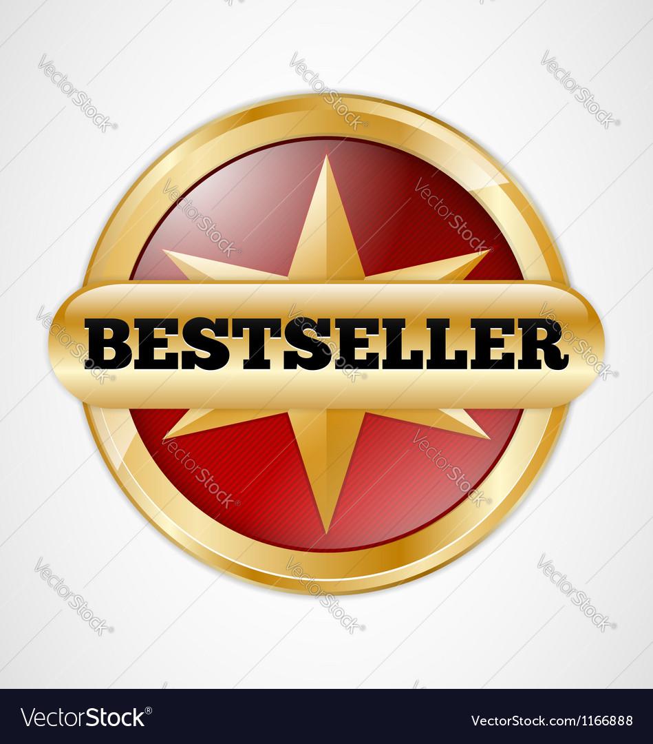 Bestseller badge vector | Price: 1 Credit (USD $1)