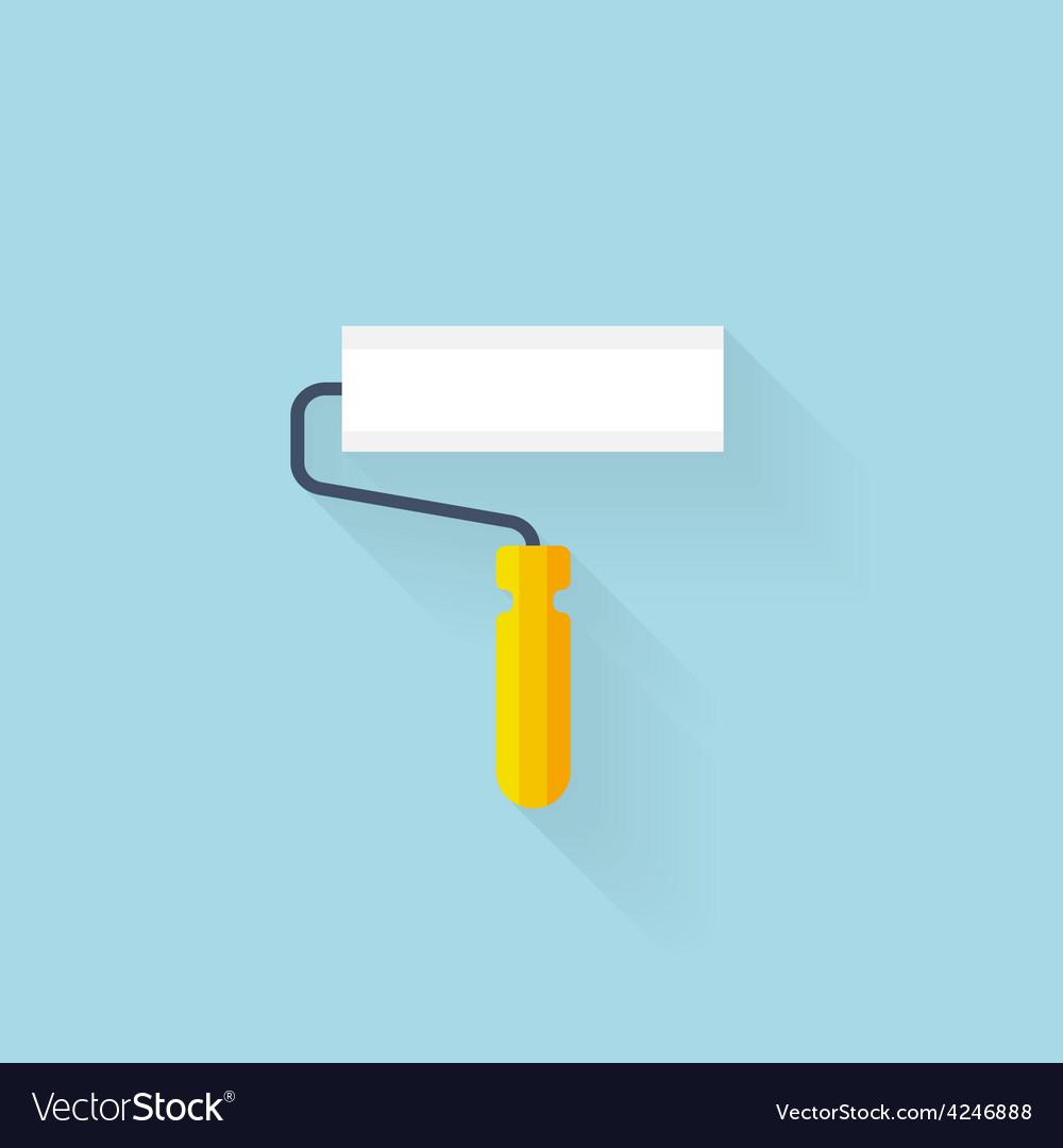 Flat web icon brush vector | Price: 1 Credit (USD $1)