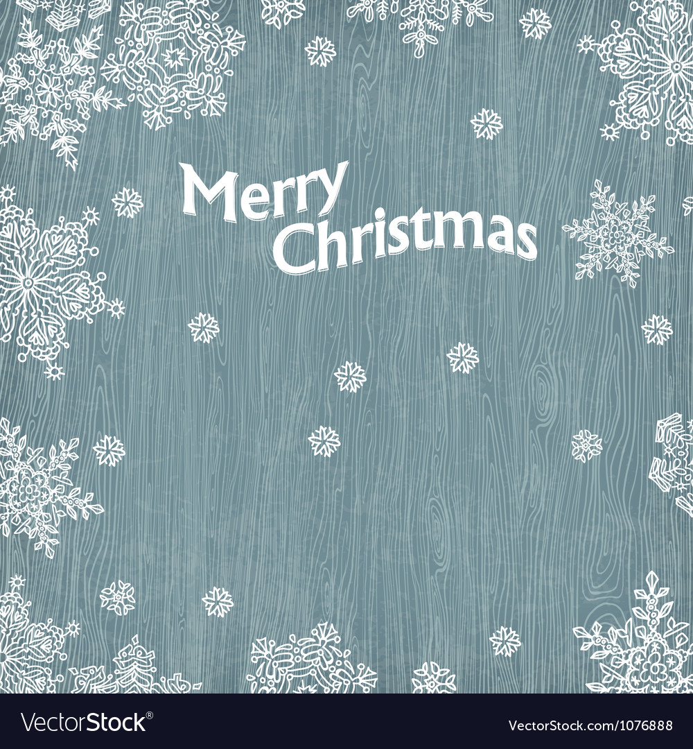 Merry christmas vintage greetings vector | Price: 1 Credit (USD $1)