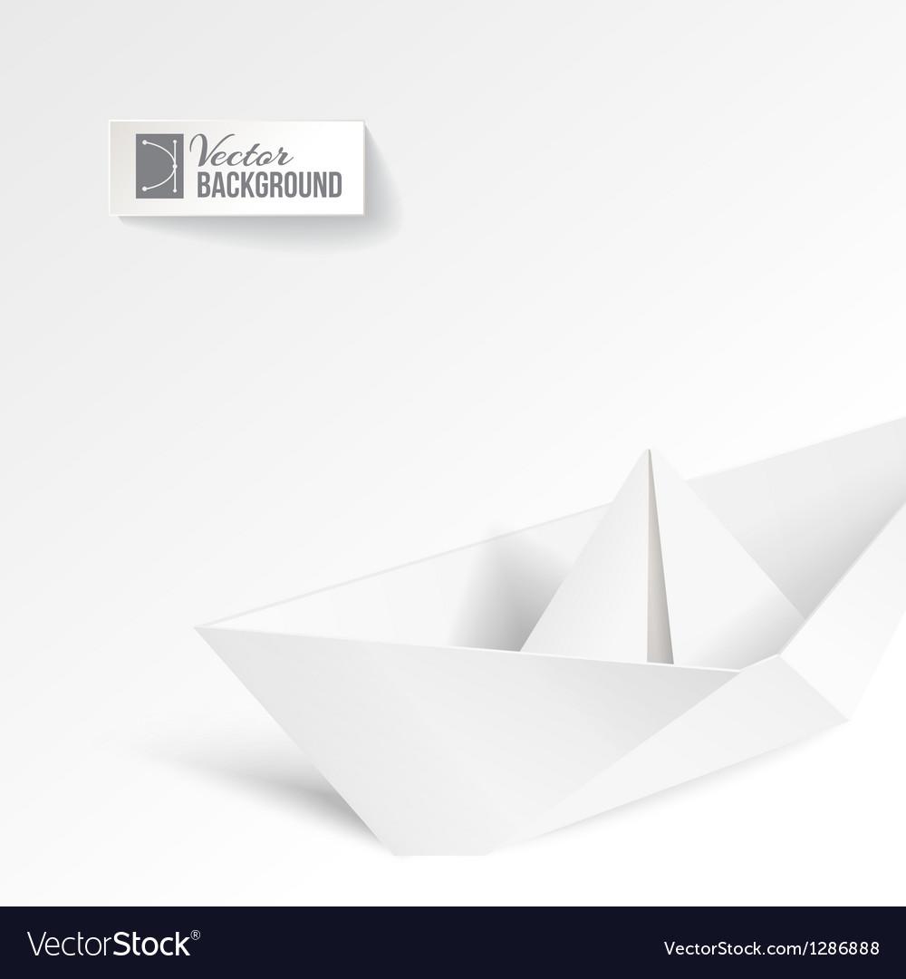 Paper ship vector   Price: 1 Credit (USD $1)