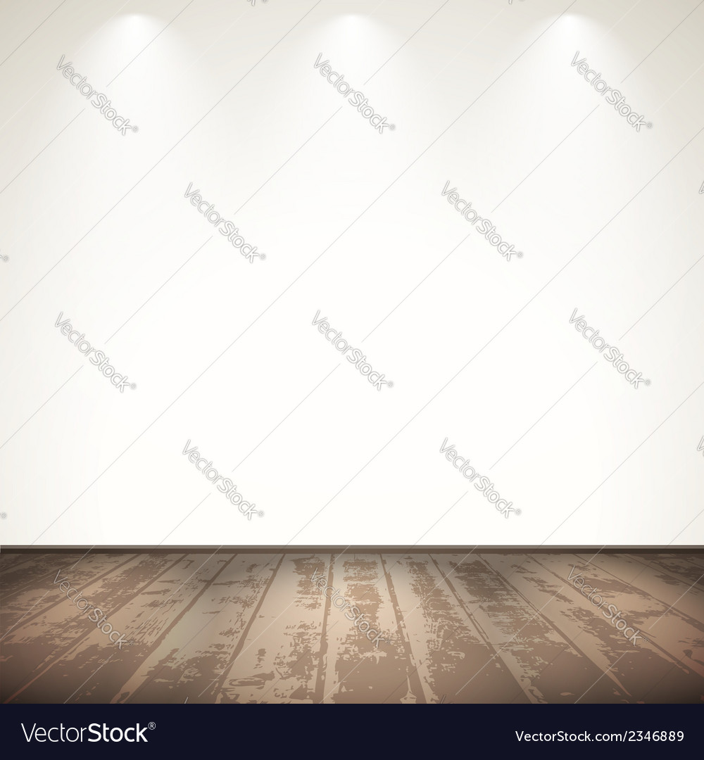 Light wooden room vector | Price: 1 Credit (USD $1)