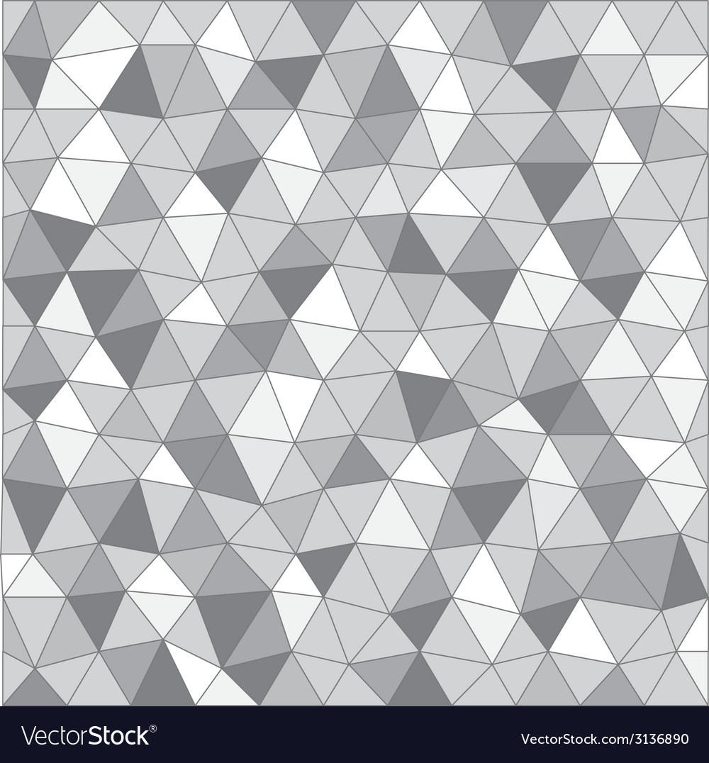 Abstract background of different triangles vector | Price: 1 Credit (USD $1)