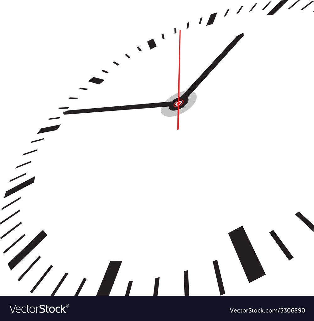 Clock face vector | Price: 1 Credit (USD $1)