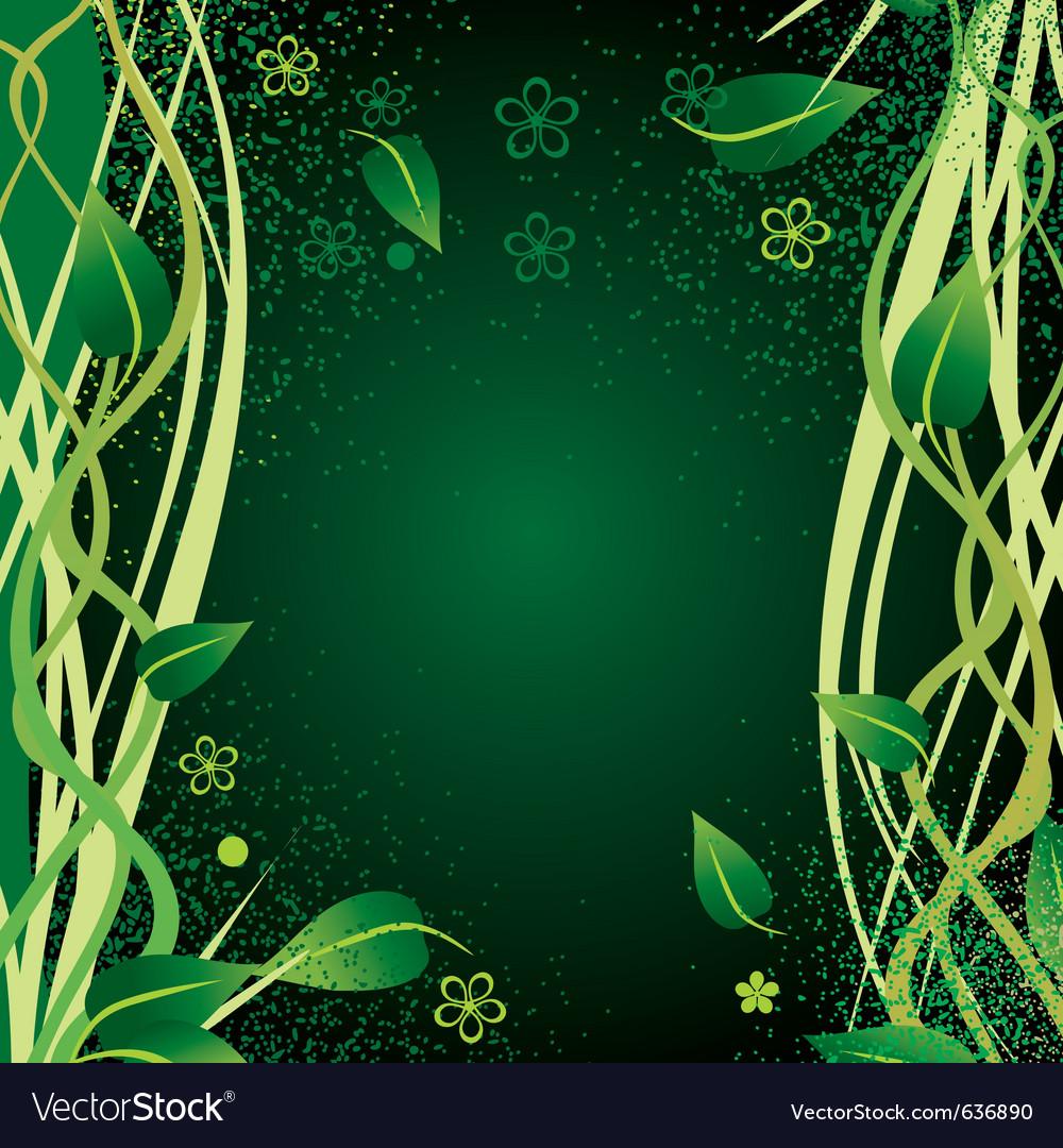 Nature border vector | Price: 1 Credit (USD $1)