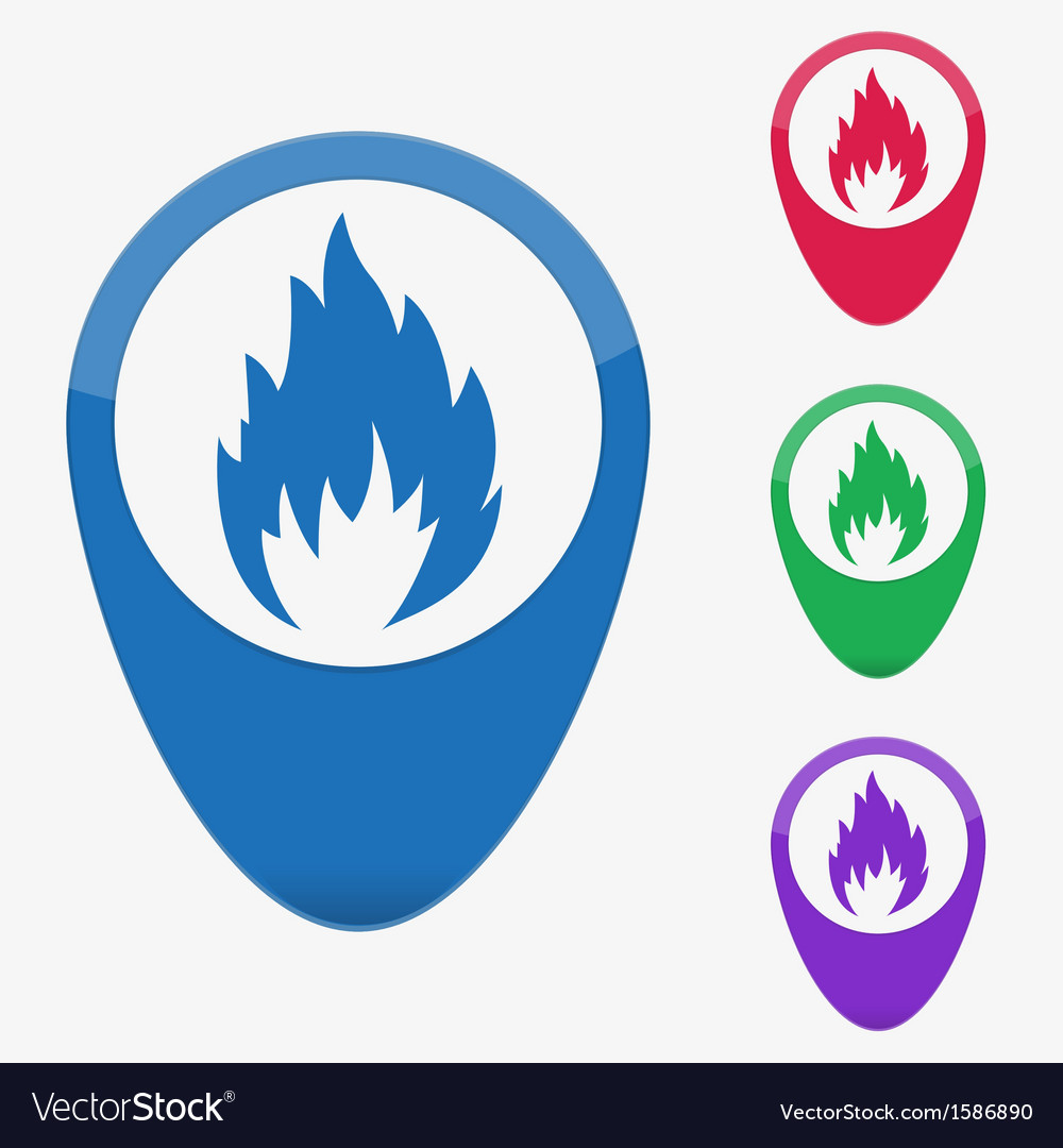 Web buttons pointer - fire vector   Price: 1 Credit (USD $1)