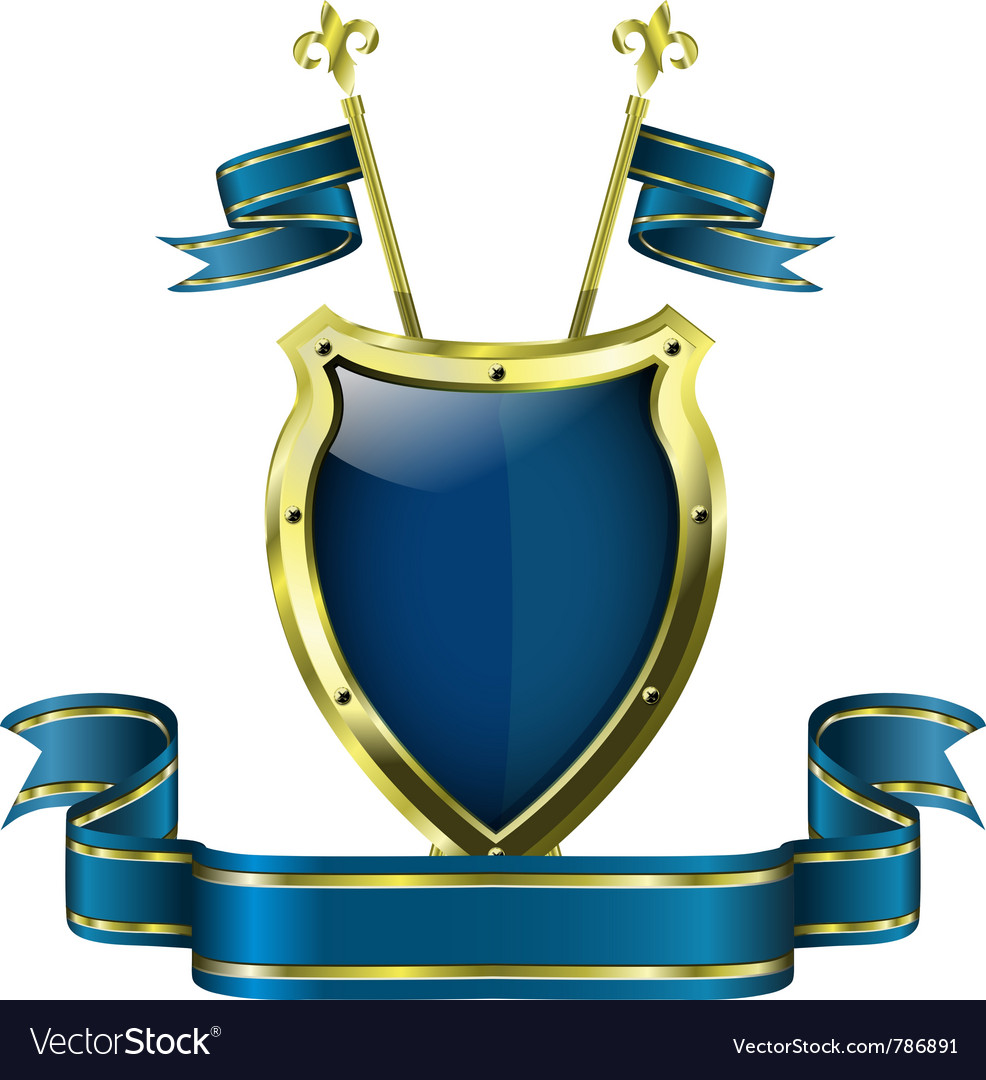 Abstract metallic shield vector   Price: 1 Credit (USD $1)