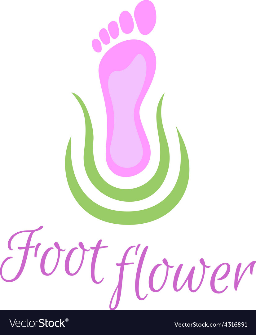 Foot care logo vector | Price: 1 Credit (USD $1)