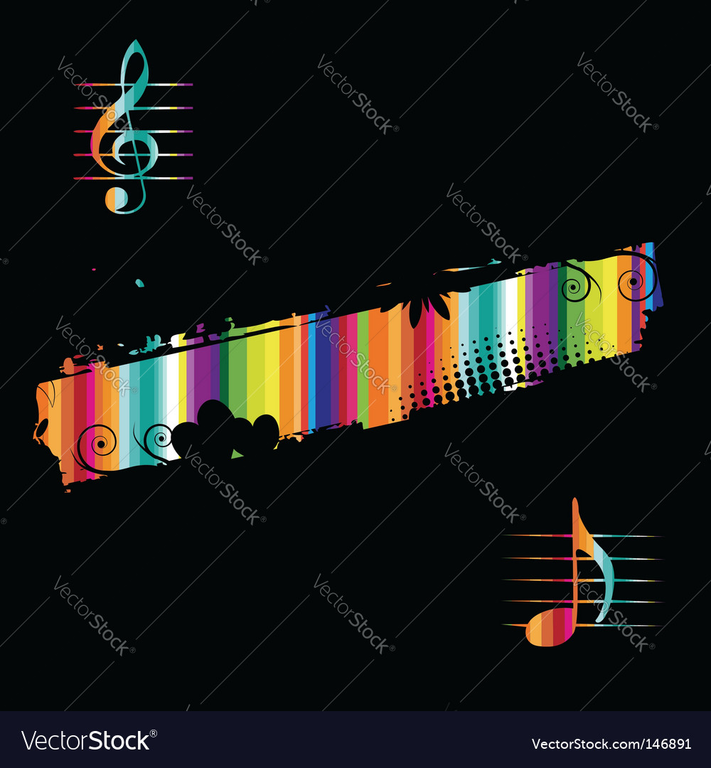 Music elements vector | Price: 1 Credit (USD $1)
