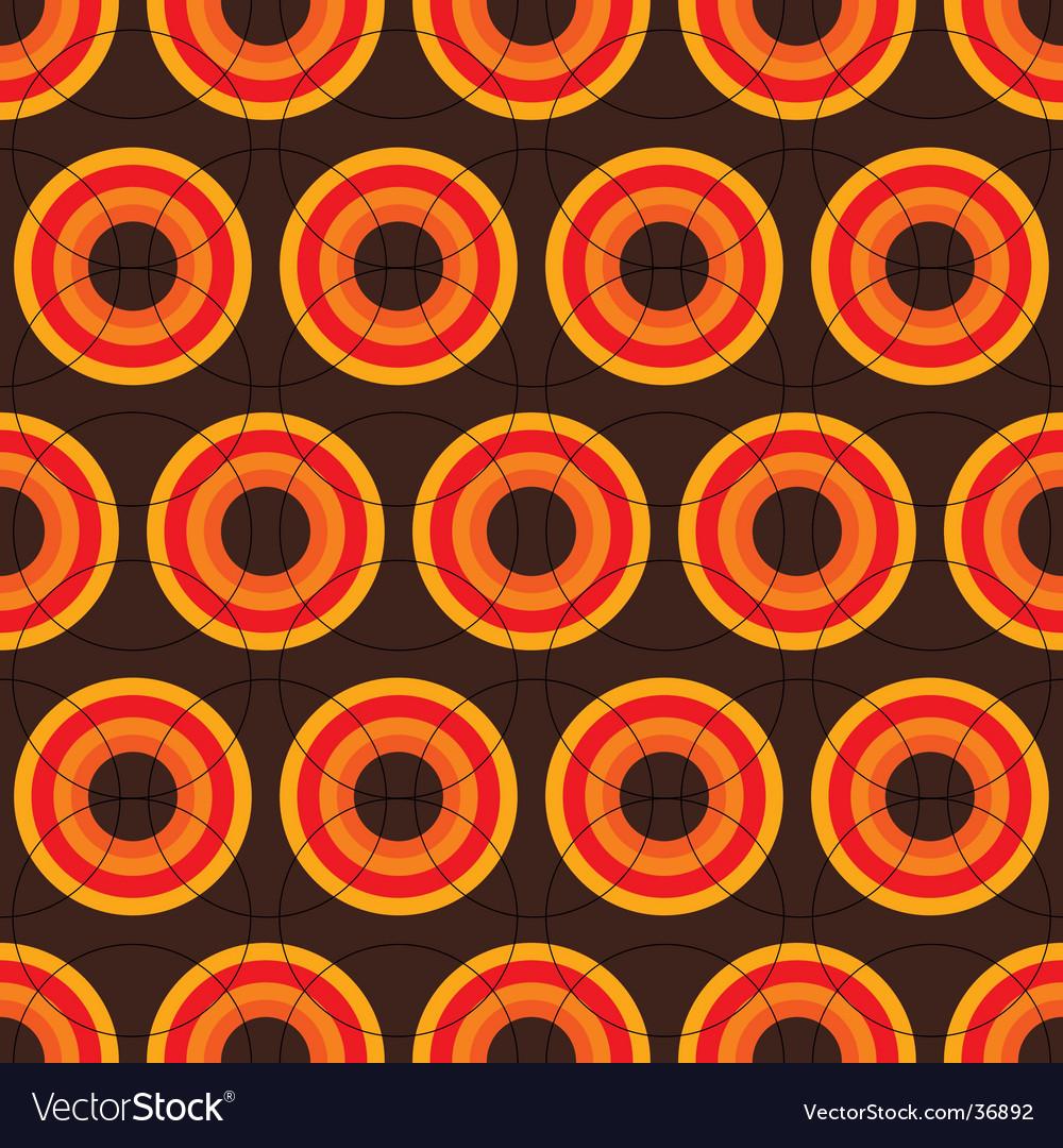 Sixties retro brown vector | Price: 1 Credit (USD $1)