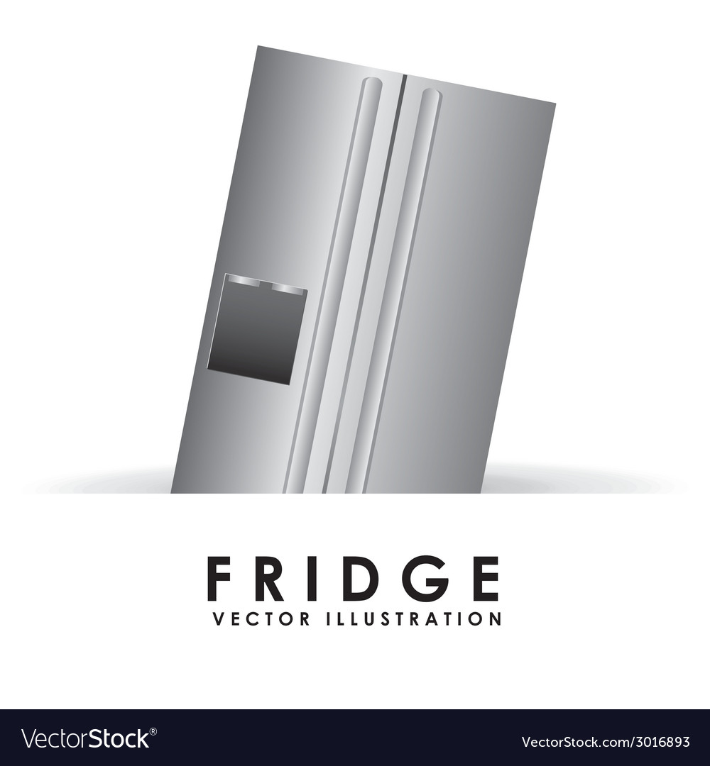 Fridge design vector | Price: 1 Credit (USD $1)