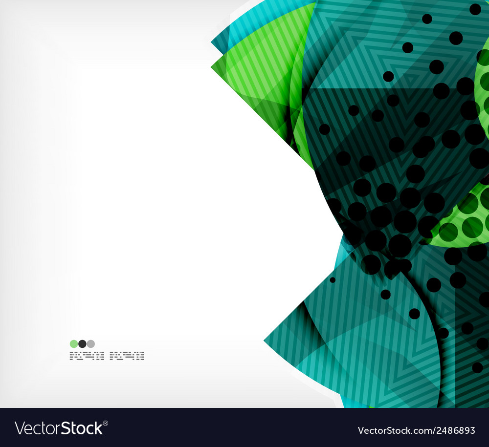 Modern futuristic techno abstract composition vector | Price: 1 Credit (USD $1)
