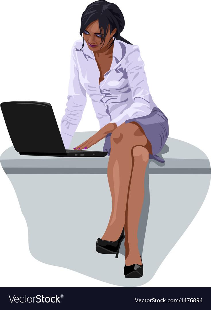 Business women vector | Price: 3 Credit (USD $3)