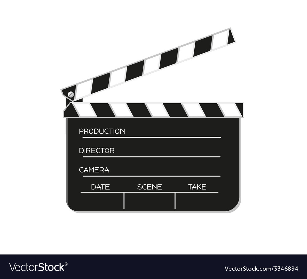 Film flap vector | Price: 1 Credit (USD $1)