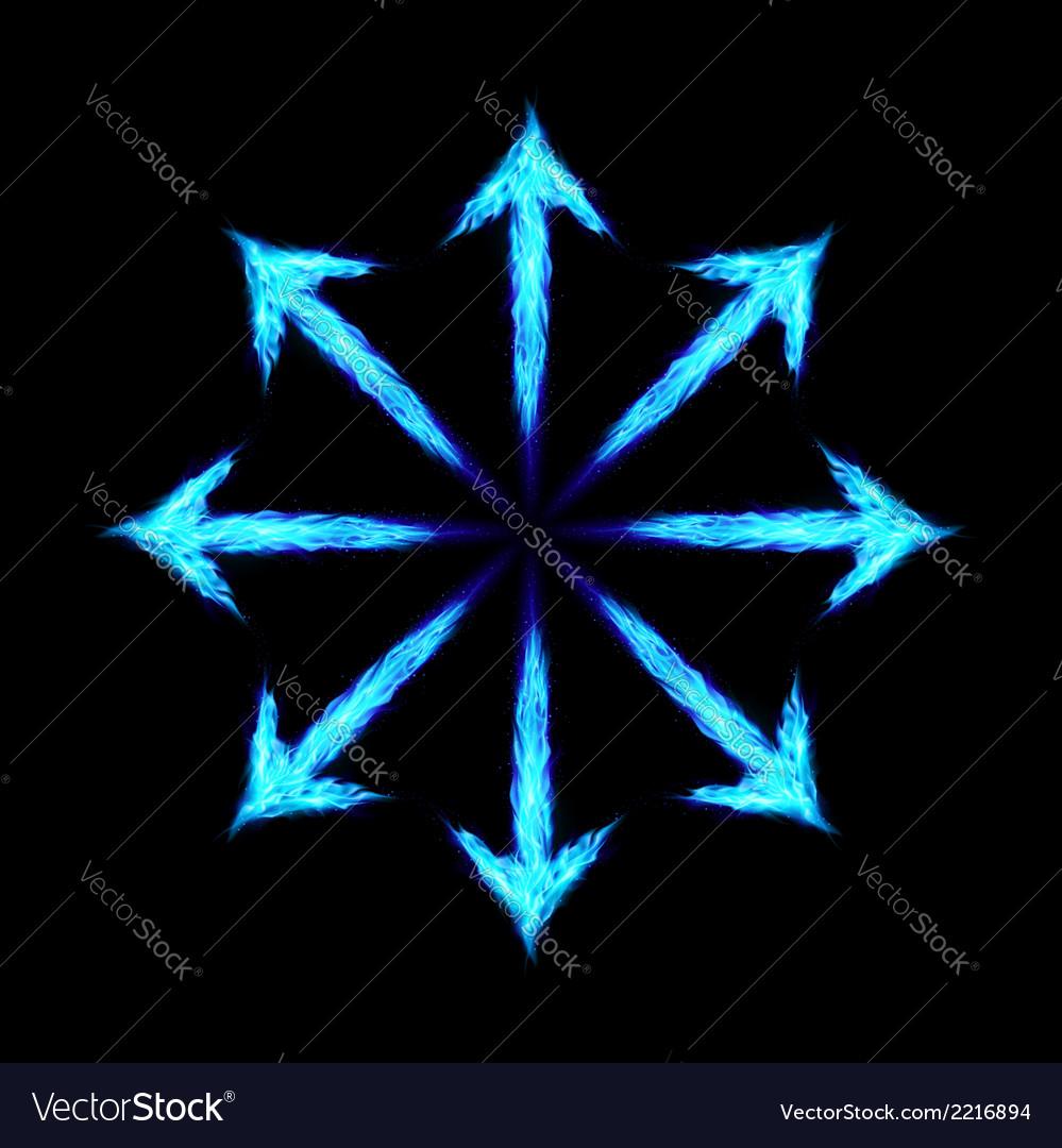 Fire arrows vector | Price: 1 Credit (USD $1)