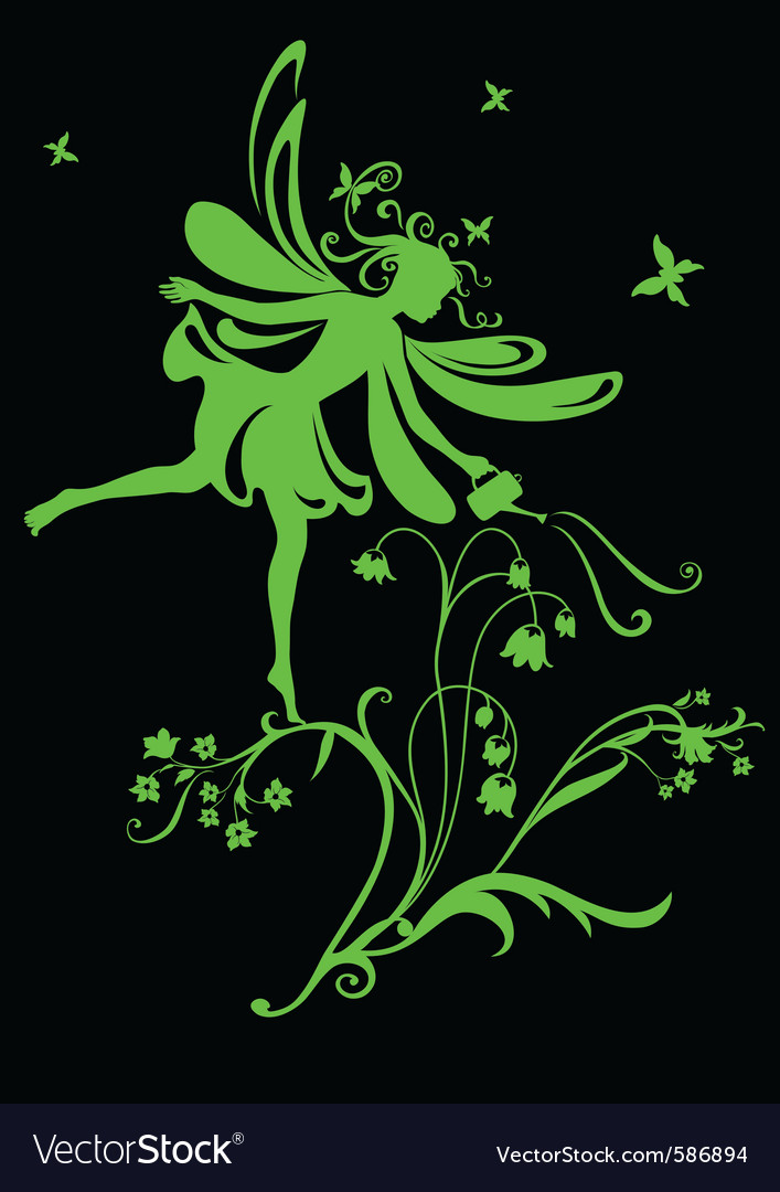 Funky fairy vector | Price: 1 Credit (USD $1)