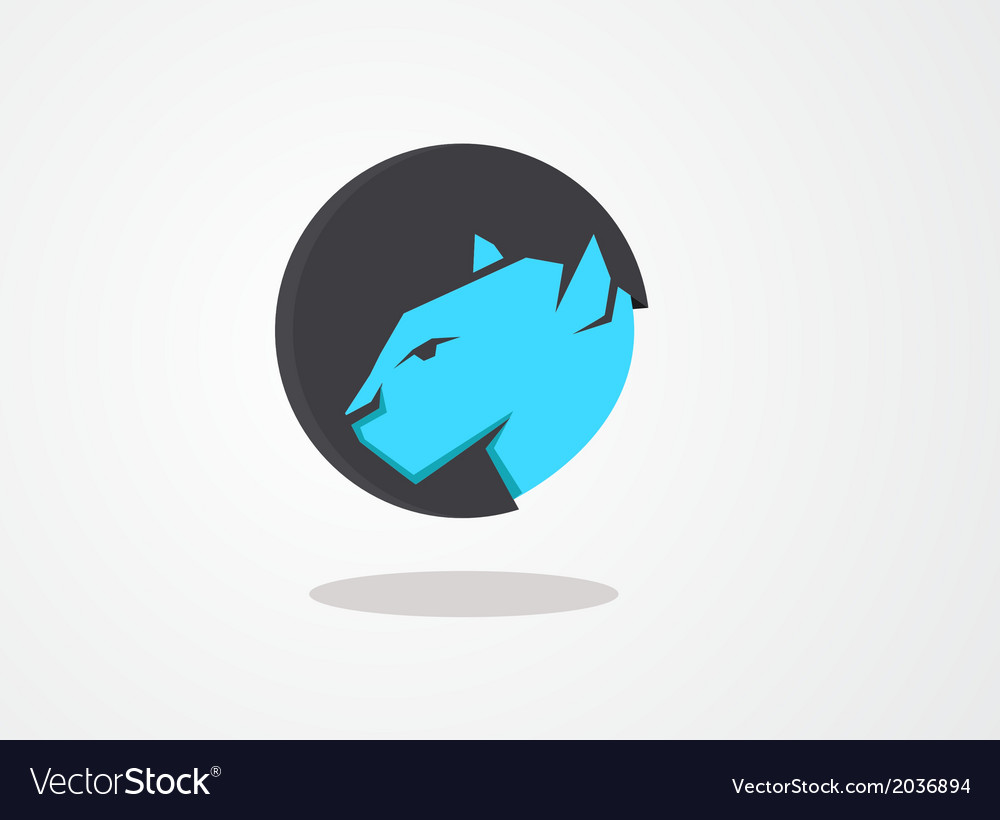 Icon wildcat vector | Price: 1 Credit (USD $1)