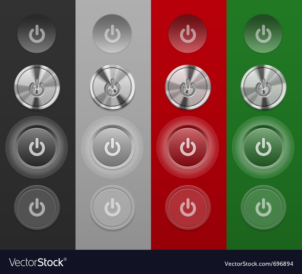 Mac buttons vector | Price: 1 Credit (USD $1)