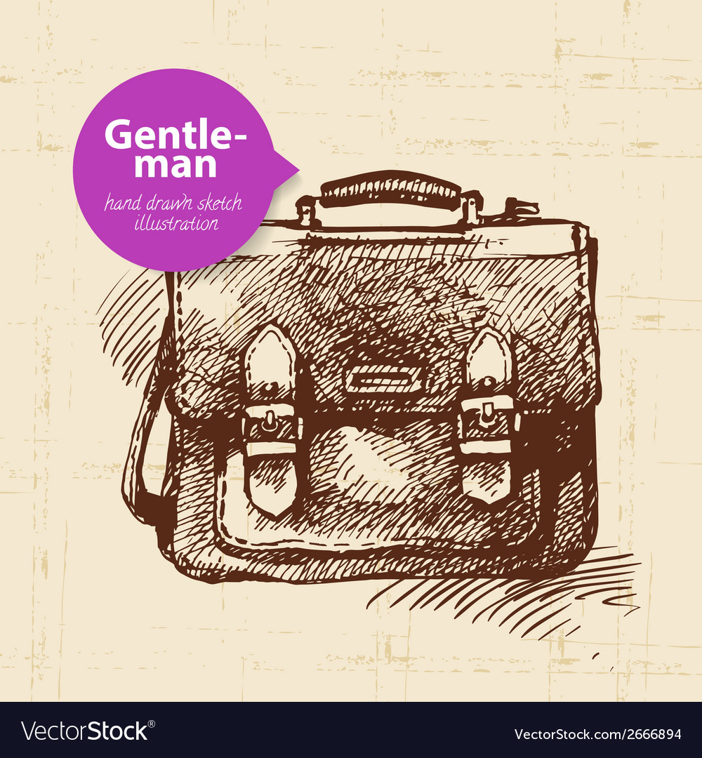 Sketch gentlemen accessory vector | Price: 1 Credit (USD $1)