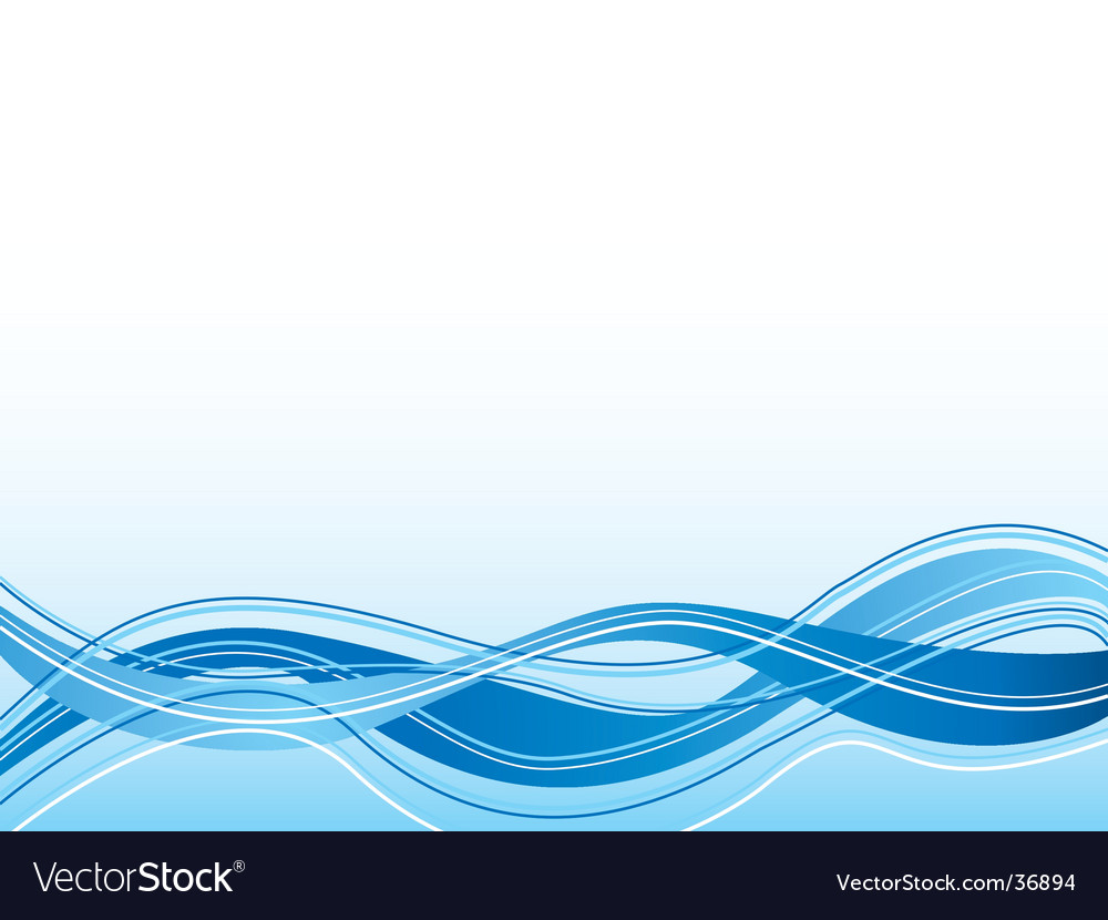 Spiritual wave blue vector | Price: 1 Credit (USD $1)
