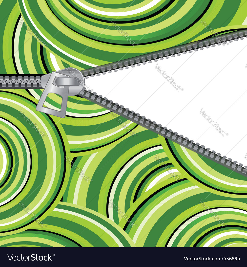 Abstract background with open zipper for design vector | Price: 1 Credit (USD $1)