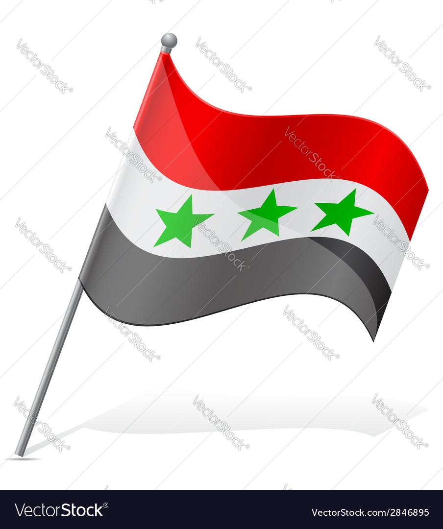 Flag of iraq vector | Price: 1 Credit (USD $1)