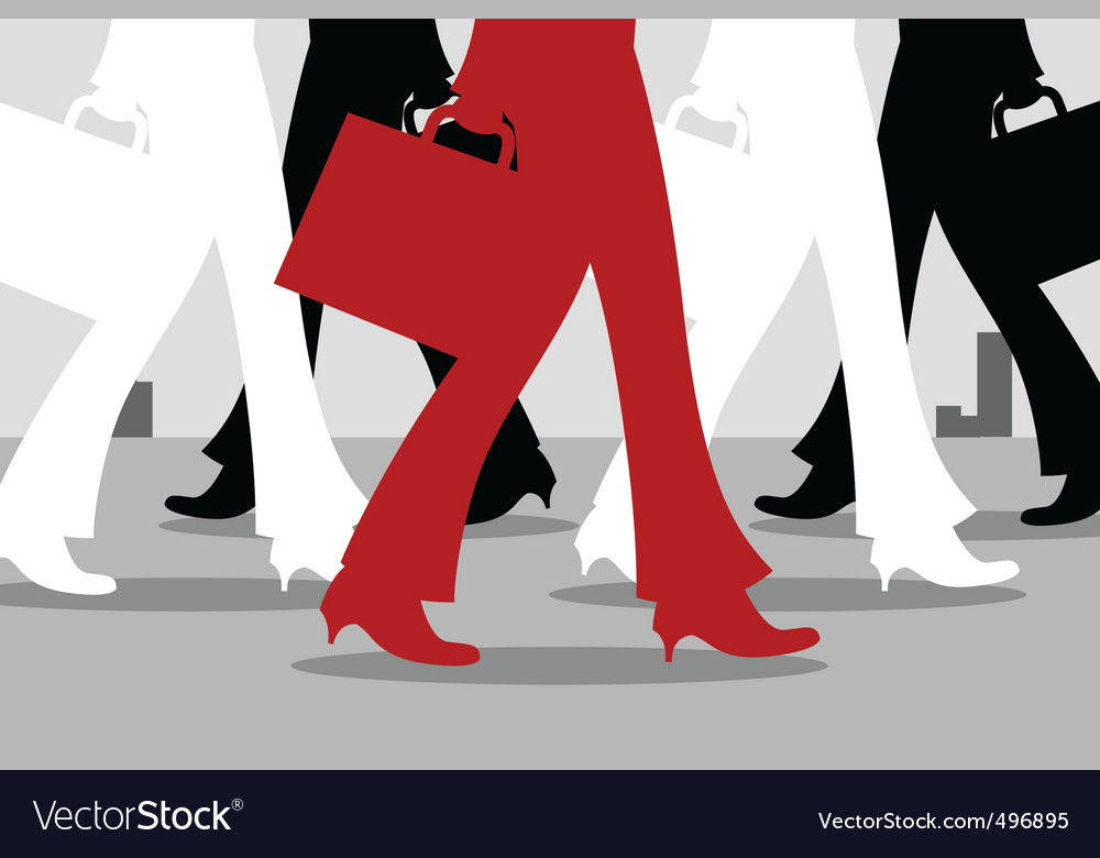Walking feet vector | Price: 1 Credit (USD $1)
