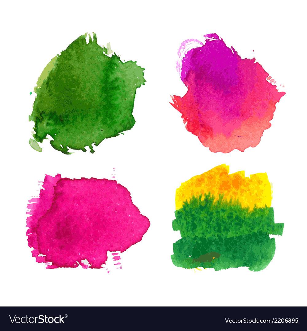 Water-colour blots vector | Price: 1 Credit (USD $1)