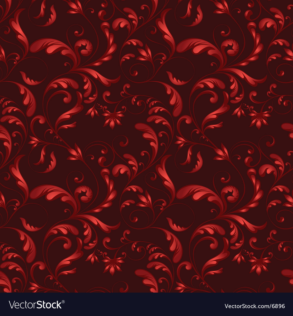 Tiling flower texture vector | Price: 1 Credit (USD $1)