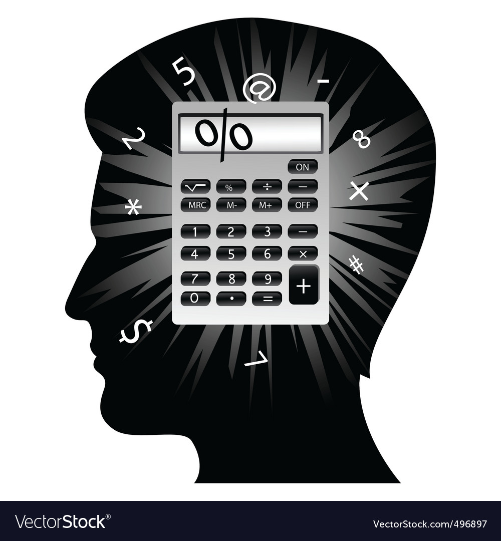 Creative man's mind vector   Price: 1 Credit (USD $1)
