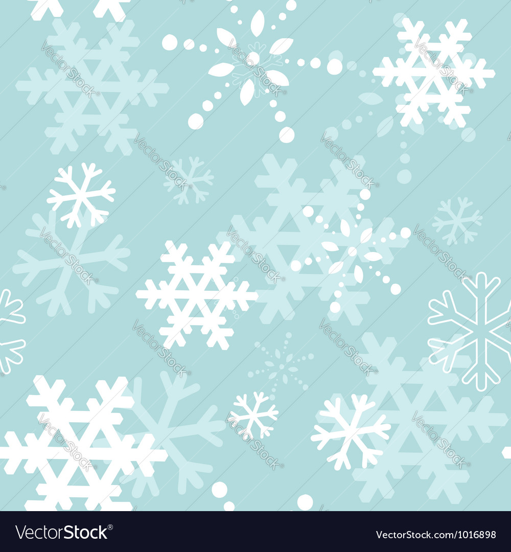 Decorative winter christmas seamless texture vector | Price: 1 Credit (USD $1)