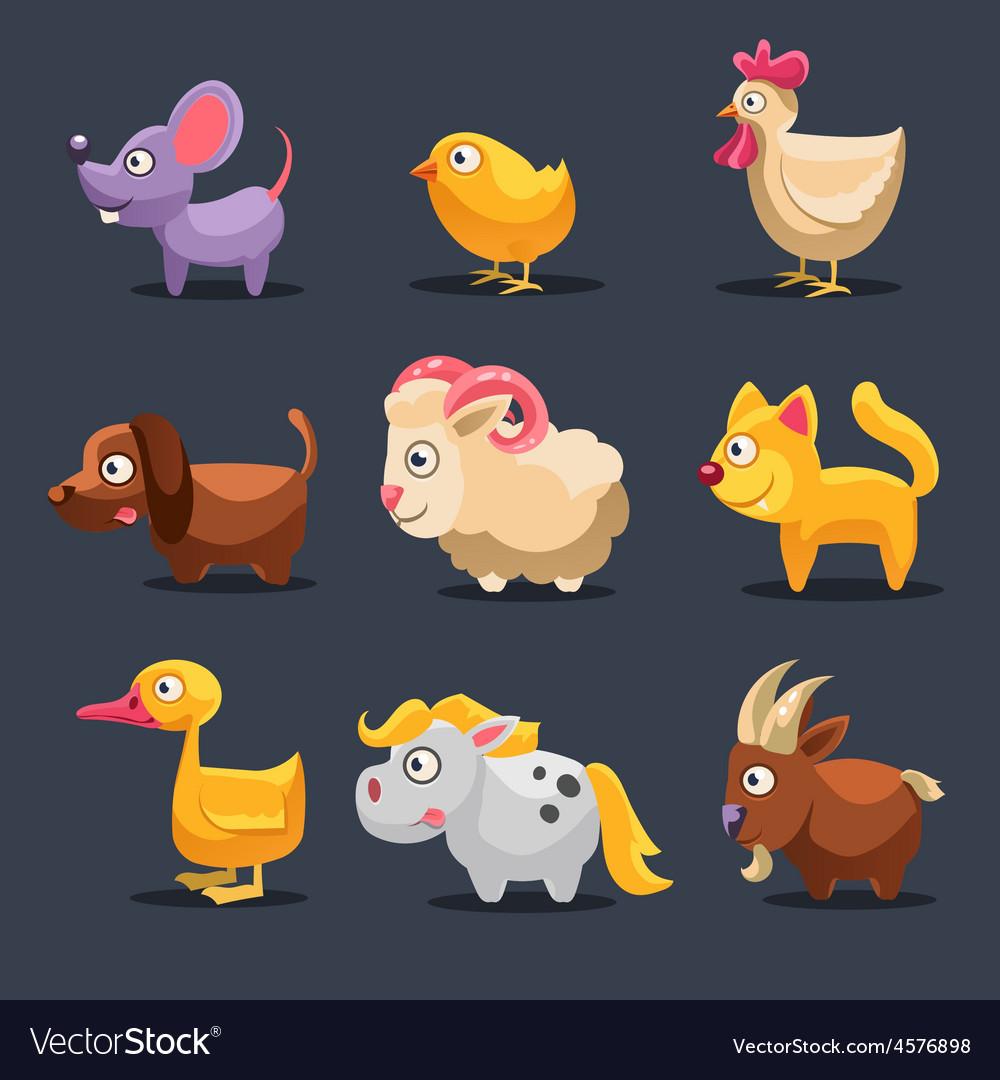 Farm animals vector | Price: 3 Credit (USD $3)