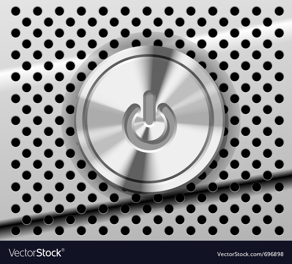Mac power button vector | Price: 1 Credit (USD $1)