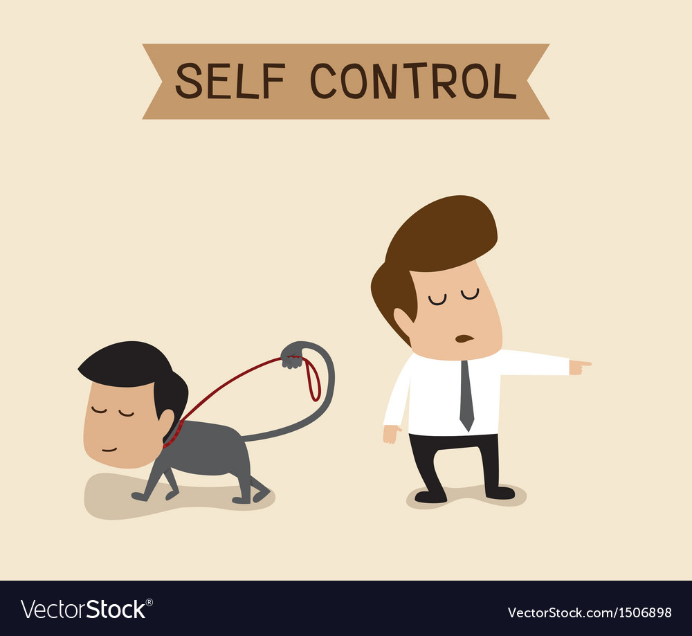 Self control vector | Price: 1 Credit (USD $1)