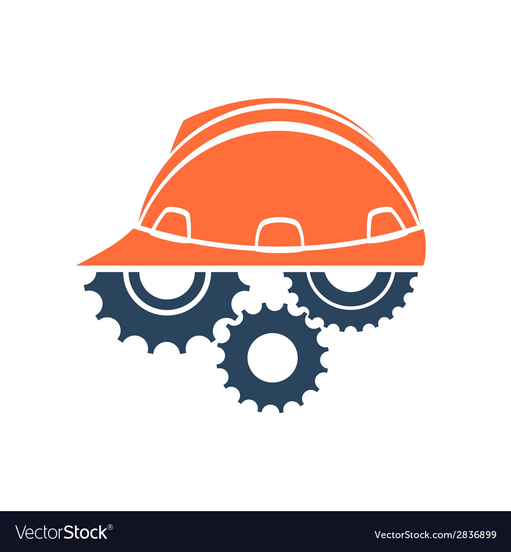 Construction conceptual logo vector | Price: 1 Credit (USD $1)