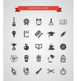Set of flat design icons vector
