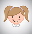 Girl graphic vector