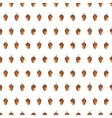 Colorful autumn seamless pattern made of hand vector