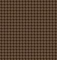 Diagonal brown beige seamless fabric texture vector