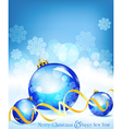Holiday blue background vector