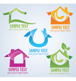 Buy your own home property symbols vector