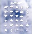 Weather icon set  eps10 vector