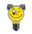 Lamp bulb with timer vector