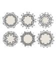 Set of ornamental frames for your design vector