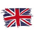 Flag of united kingdom uk great britain handmade vector