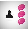 Speech dialog people eps vector