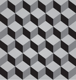 Abstract black seamless pattern made from stacked vector