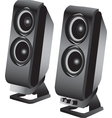 Stereo loudspeakers vector