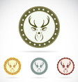 Set of deer label vector