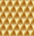 Abstract gold seamless pattern made from stacked vector