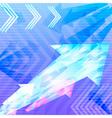 Abstract background arrow vector